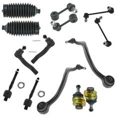 06-09 Fusion; 06-09 Milan; 06 Zephyr; 07-09 MKZ Steering & Suspension Kit (14 Piece)
