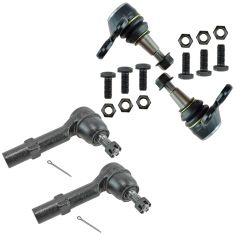 08-14 Enclave Traverse; 07-14 Acadia; 07-10 Outlook Steering & Suspension Kit (4 Piece)