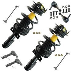 07-13 Acadia; 07-10 Outlook; 08-13 Enclave; 09-13 Traverse Steering & Suspension Kit (8 Piece)