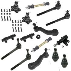 1995-00 Chevy GMC Pickup/SUV Multifit 4WD 15 Piece Front Suspension Kit