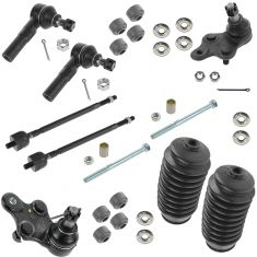 91-99 Toyota Tercel; 92-98 Paseo Front Steering & Suspension Kit (10 Piece)