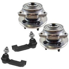 02-05 Jeep Liberty Front Steering & Suspension Kit (4 Piece)
