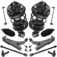 00-01 Eclipse; 01 Sebring, Stratus Cpe 2.4L Frt Steering & Suspension Kit (14 Piece)
