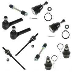 03-12 Chevy Express, Savana 2500 w/ 8500 GVW; 3500 Front Steering & Suspension Kit (10 Piece)
