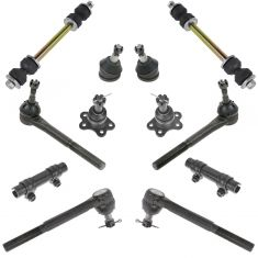 96-02 Chevy GMC Fullsize Van Front Steering & Suspension Kit (12 Piece)
