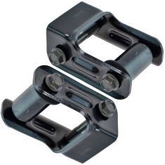 04-12 Colorado, Canyon; 06-10 H3; 09-10 H3T Rear Leaf Spring Rearward Shackle Kit Pair
