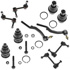 02-03 GM Mid Size SUV Steering & Suspension Kit (10pc)