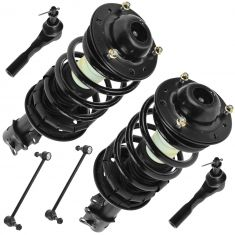 04-12 Malibu; 05-10 G6; 07-09 Aura Front Steering & Suspension Kit (6 Piece)