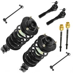 04-12 Malibu; 05-10 G6; 07-09 Aura Front Steering & Suspension Kit (8 Piece)
