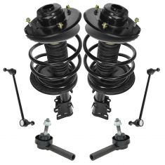 01-04 Dodge Caravan; Chrysler Town & Country Front Steering & Suspension Kit (6 Piece)