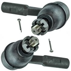 06-07 Colorado, Canyon; 07-08 I-290, I-370 14mm Outer Tie Rod End Set Pair