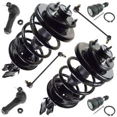 99-04 Honda Odyssey Front Steering & Suspension Kit (8 Piece)