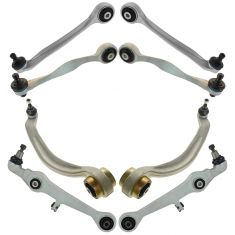 97-02 Audi; 98-03 VW Multifit Front Upper & Lower Control Arm Set of 8