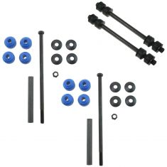 06-10 Ford Explorer; Sport Trac; Mountaineer Front & Rear Sway Bar End Link Kit (4 Piece)