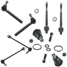 03-04 Nissan Murano Front Steering & Suspension Kit (8 Piece)