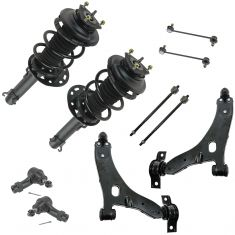 08 Ford Focus Front Steering & Suspension Kit (10 Piece)