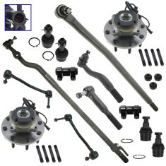 99-02 Ford F250, F350; 00-02 Excursion 4WD Steering & Suspension Kit (14pc)
