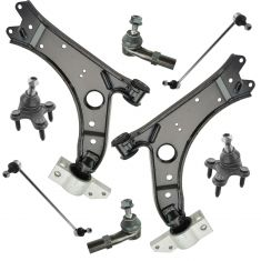 06-13 Audi A3; 07-14 VW Multifit 8 Piece Steering & Suspension Kit