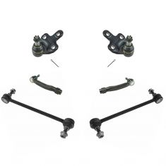 10-15 RX350; RX450h; 08-16 Highlander; 09-15 Venza Front Steering & Suspension Kit (6 Piece)