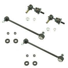 07-09 Mazda 3 Speed Front & Rear Sway Bar Link Kit (Set of 4)