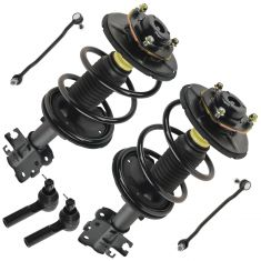 04-08 Nissan Maxima Front 6 Piece Steering & Suspension Kit