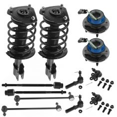 04-08 Pontiac Grand Prix Front 14 Piece Steering & Suspension Kit