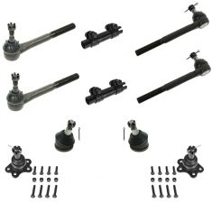 96-02 Chevy GMC Fullsize Van Front Steering & Suspension Kit (10 Piece)