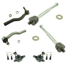 91-97 Toyota Previa Front 6 Piece Steering & Suspension Kit
