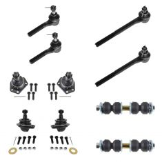 98-04 Chevy S10; GMC Sonoma; 98-00 Isuzu Hombe; 98-01 Bravada Steering & Suspension Kit (10pc)