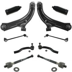 07-11 Nissan Versa; 09-11 Cube Front Steering & Suspension Kit (10 Piece)