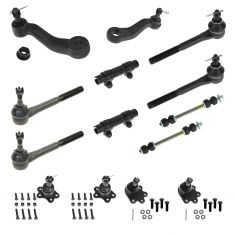 93-94 Blazer; 93-95 K1500, K2500; 93-99 Suburban Steering & Suspension Kit (Set of 14)