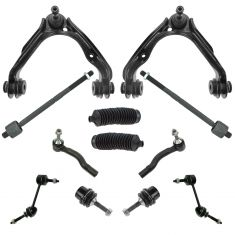 03-05 Gr Marquis, Cr Vic; 03-04 Maurader Complete Front Steering & Suspention Kit (12 Piece Set)