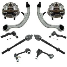 03-07 Infinite G35; Nissan 350Z Steering & Suspension Kit (10pc)