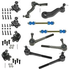 88-92 Chevy; GMC K1500; 2500; 3500 Steering & Suspension Kit (12pcs)