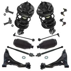 02-05 Sebring Cpe, Dodge Stratus Cpe; 01-05 Eclipse; 01-03 Galant Steering & Suspension Kit (14pc)