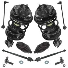 01-05 Sebring Cpe, Dodge Stratus Cpe; 01-05 Eclipse Steering & Suspension Kit (10pc)