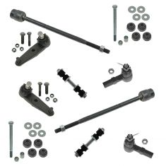 97-03 Ford Escort; 97-98 Mercury Tracer Front Steering & Suspension Kit (10 Piece)