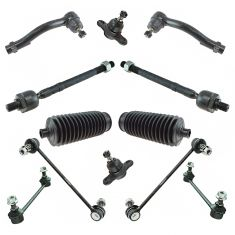 05-09 Hyundai Tucson; 05-10 Kia Sportage Steering & Suspension Kit (12 Piece)