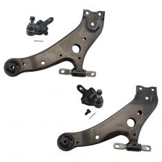 08-16 Highlander; 10-15 RX350, RX450h; 09-16 Venza Front Lower Control Arm & Ball Joint Pair