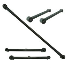 09-10 Dodge Ram 1500; 11-12 Ram 1500 Rear Upper & Lower Control Arm & Track Bar Kit (5pc)