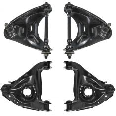 82-05 GM Mid Size PU & SUV 2WD Front Upper & Lower Control Arm Kit (4pc)