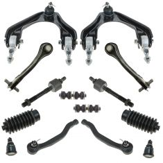 94-97 Honda Accord Front/Rear Steering & Suspension Kit (14 Piece)