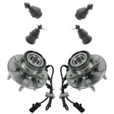 9-09 GM Full Size SUV, Pickup, VanSteering & Suspension Kit (6pcs)