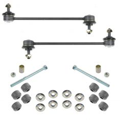 00-10 (to 12-23-09) Ford Focus Front & Rear Sway Bar End Link Kit (4pc)