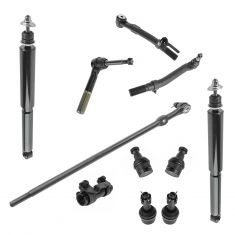 08-10 Ford F250 F350 Super Duty 4WD Front Steering & Suspension Kit (11 Piece)