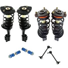 7 Monte; 00-11 Impala (ex Police); 05-09 Allure, LaCrosse Suspension Kit (8pcs)