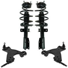 07-13 Acadia; 07-10 Outlook; 08-13 Enclave; 09-13 Traverse Suspension Kit (4pcs)