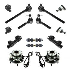 98-05 Chevy, GMC, Isuzu, Olds Mid Size PU, SUV Steering & Suspension Kit (14 Piece)