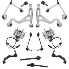 00-02 Lincoln LS Front Steering & Suspension Kit (14pcs)