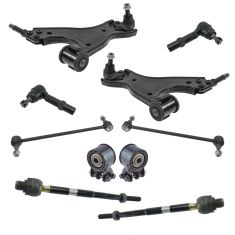 08-17 Buick Enclave; 09-17 Traverse; 07-17 Acadia Steering & Suspension Kit (10pcs)